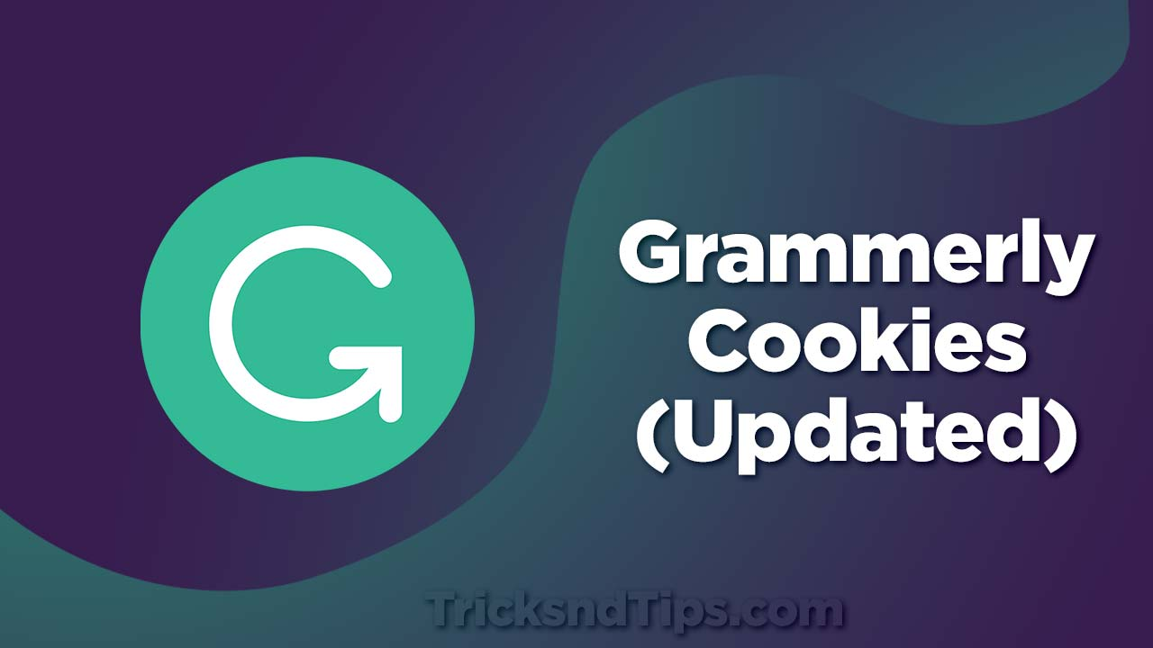 Grammerly Cookies