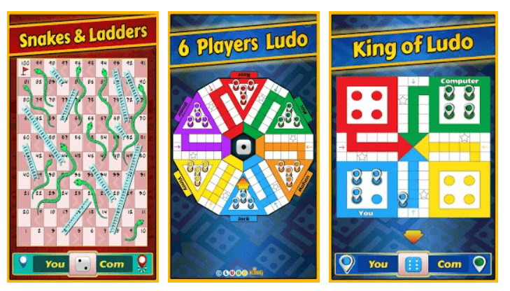Screenshot of the Ludo Apk 3