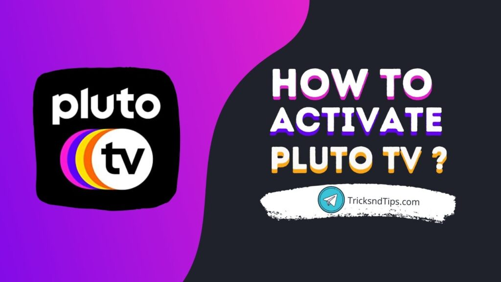 How to activate pluto tv