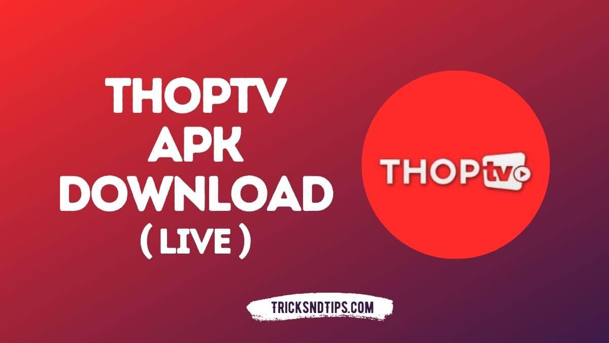 ThopTV Pro APK v45.5.3 (Live Cricket 2021, Show & …