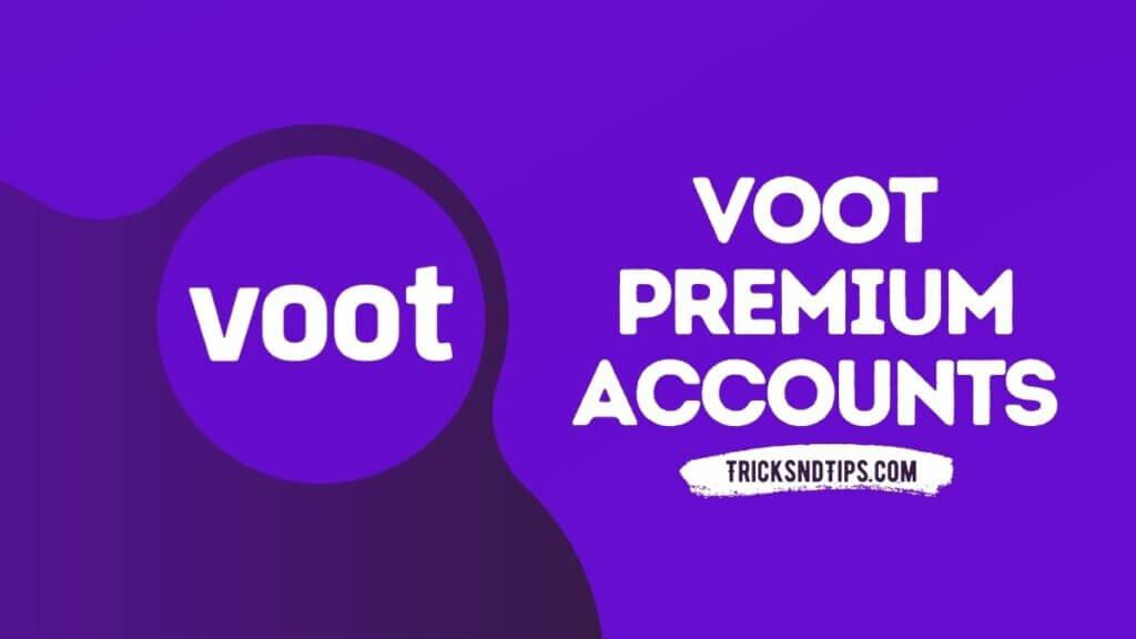 Voot Premium Account