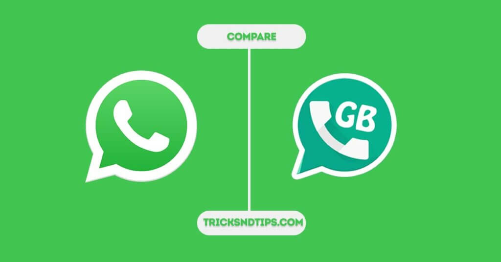 Image of Whatsapp vs gbwhatsapp