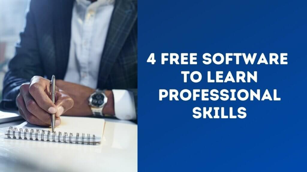 4 Incredible Examples of Free Software That Can Teach You Professional Skills