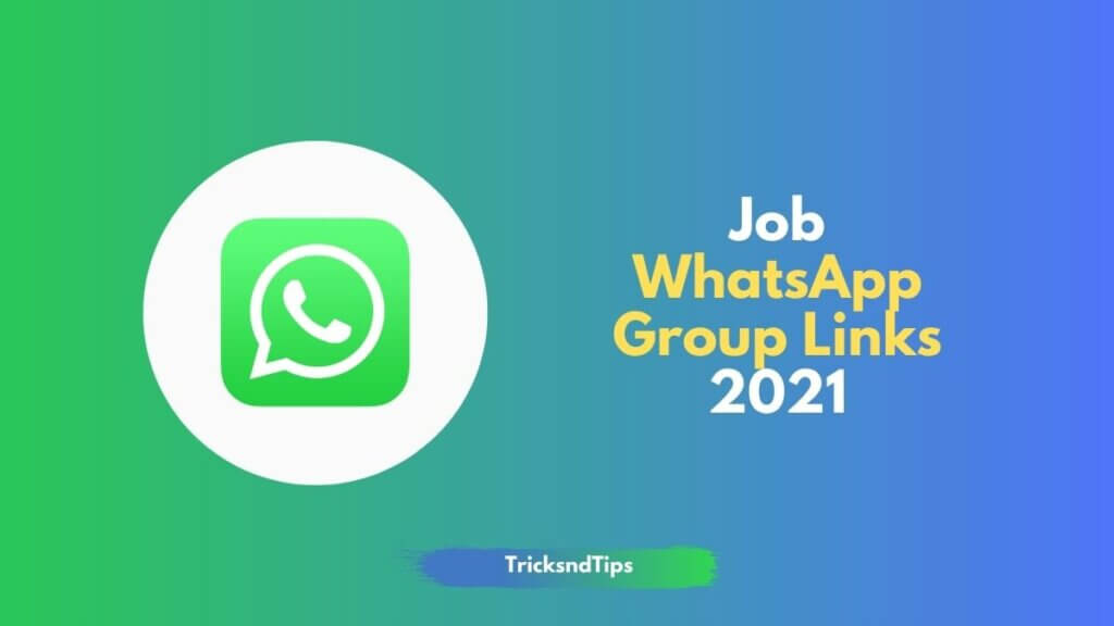 job whatsapp group links