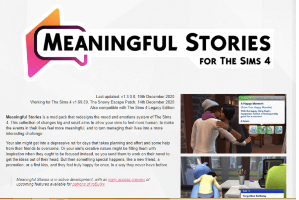 meaningful stories