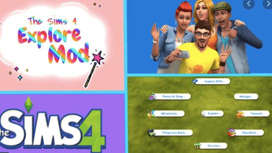 the sims 4 explore mod