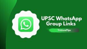 UPSC WhatsApp Group Links