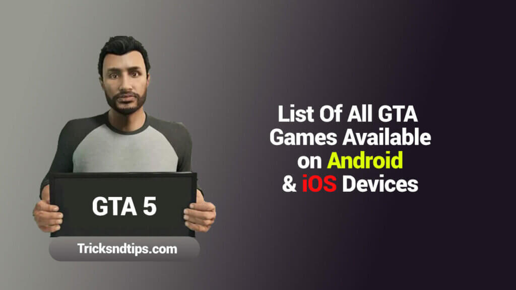 List Of All GTA Games Available On Android image