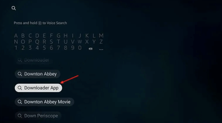 firestick downloader search