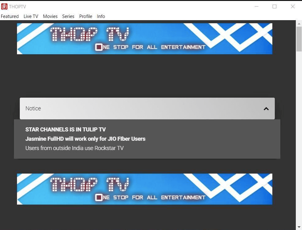 Live TV Channel Streaming