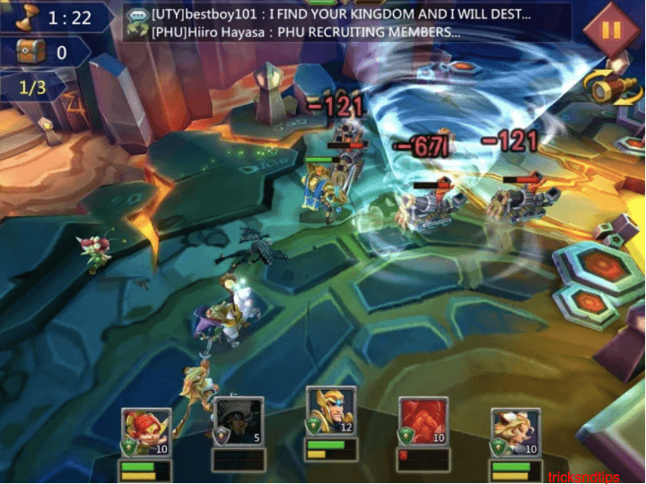 gameplay screenshot of lords mobile 3