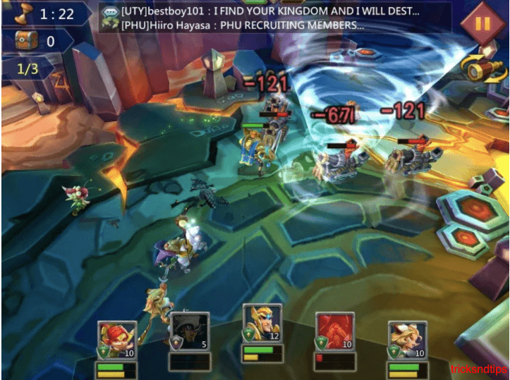 gameplay screenshot of lords mobile  2