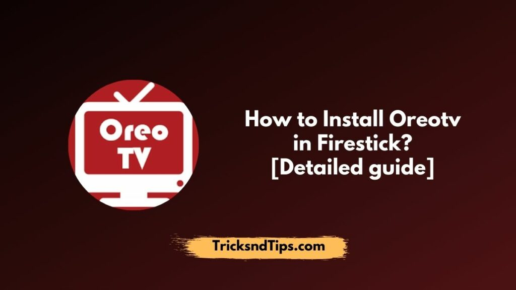 Oreo TV on Firestick