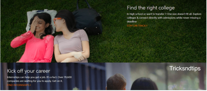 Services offered by Chegg