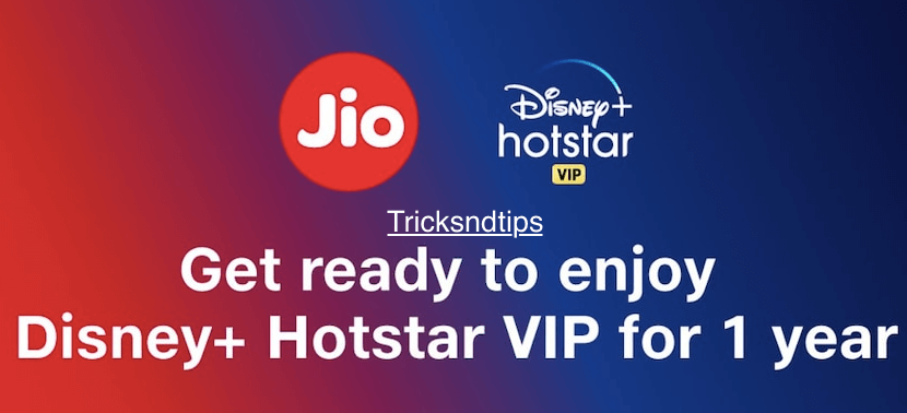 Get Hotstar VIP Premium Free With Jio Apps and App.