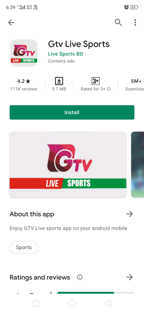Search GTv Apk