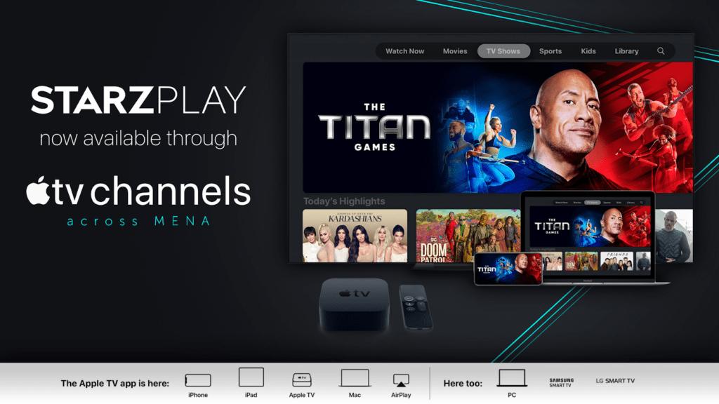 Manage Starz Apple TV