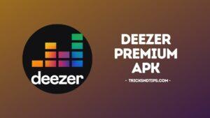 image of Deezer Premium APK