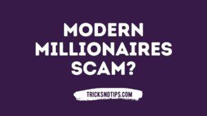 img of Modern Millionaires Scam?