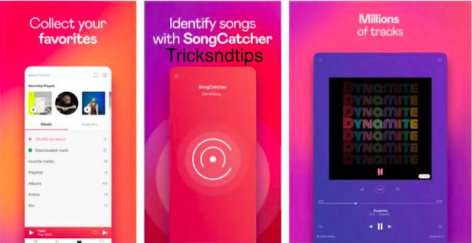 image of App Screenshots Deezer Premium MOD