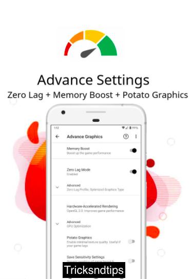 image of Screenshots of Pro GFX & Optimizer