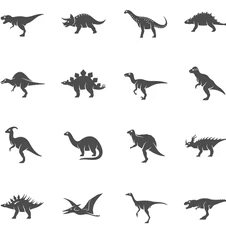 image of  Extensive collection of different dinosaurs