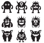 image of Various monsters are chasing you.