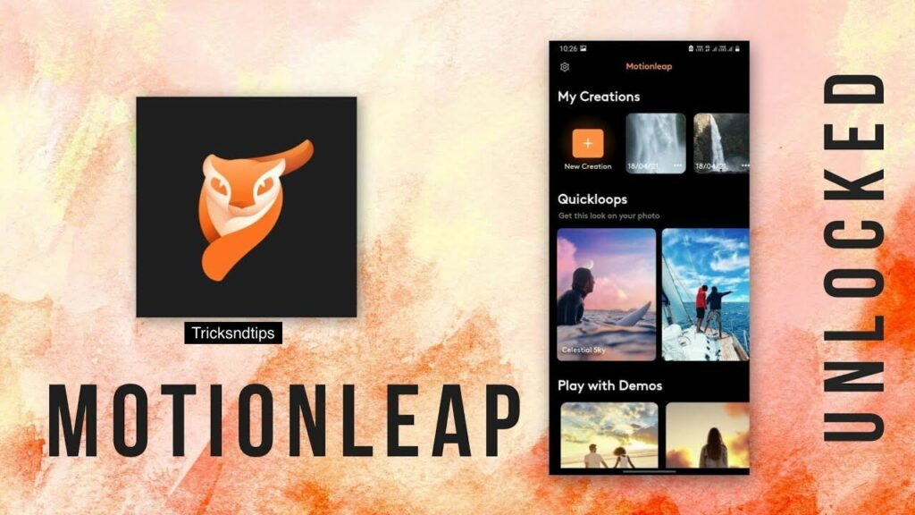 imagee of What is Motionleap Pro Apk?