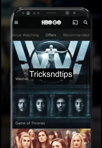 image of Screenshot of HBO GO MOD