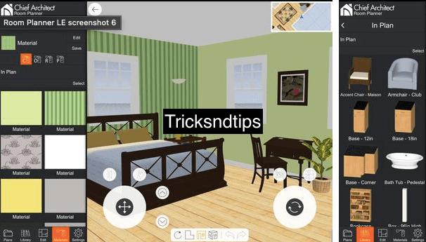 image of Screenshots of Room Planner MOD APK:
