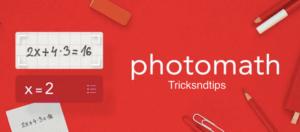 What is Photomath Mod APK?