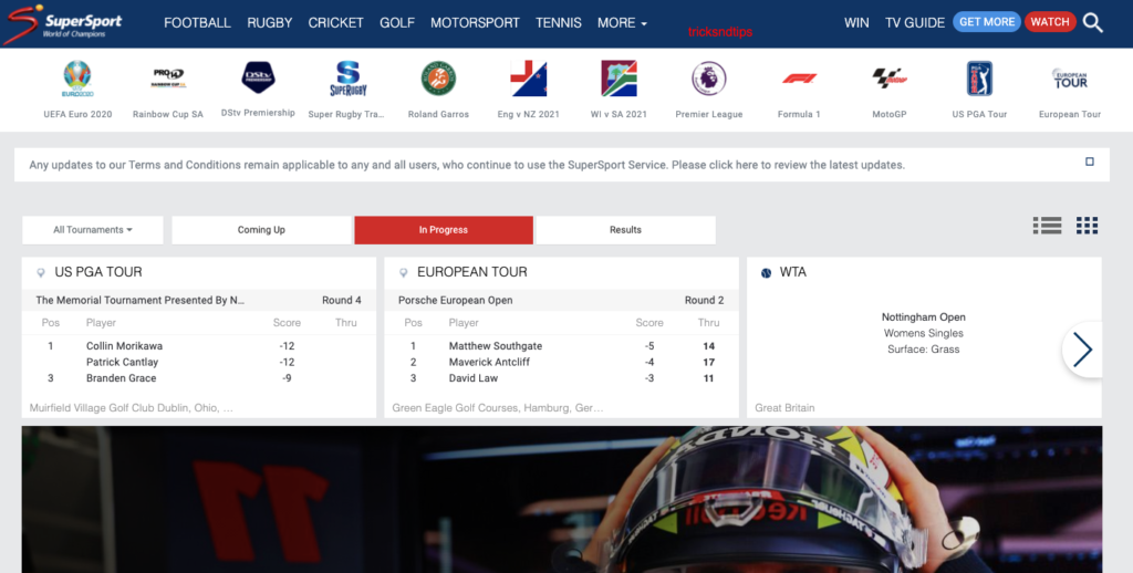 SuperSport screenshot