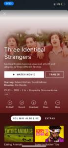 Three Equivalent Strangers