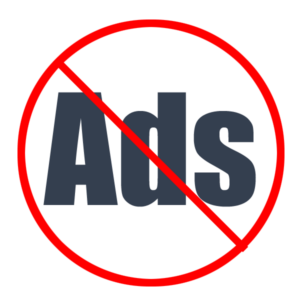 Ads-free
